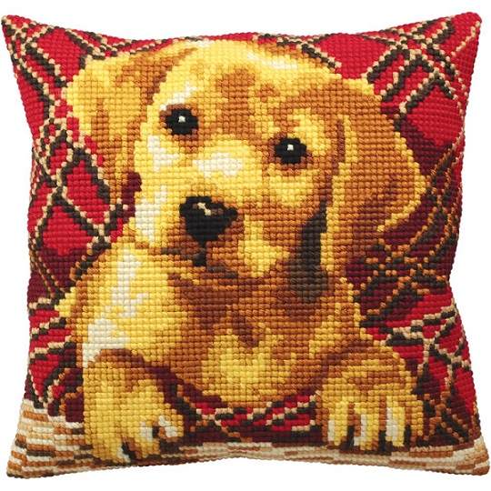 click here to view larger image of Brady (needlepoint)