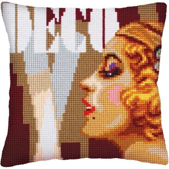 click here to view larger image of Art Deco II (needlepoint)