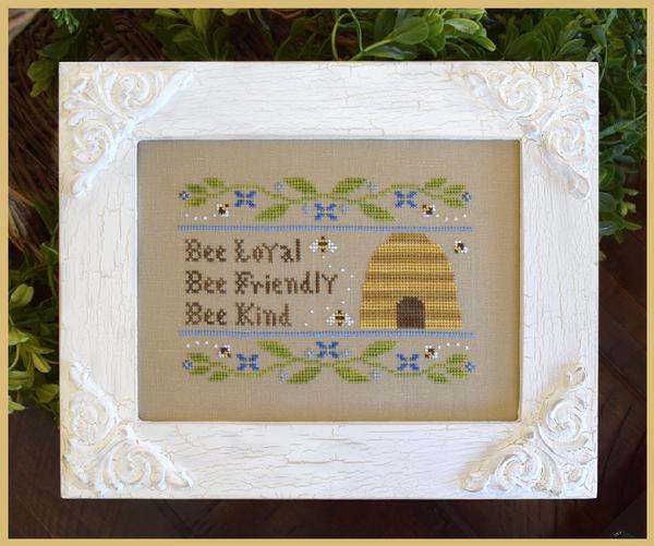 click here to view larger image of Bee Virtues (chart)