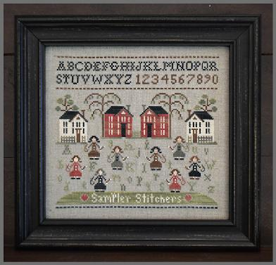 Sampler Stitchers - click here for more details about chart