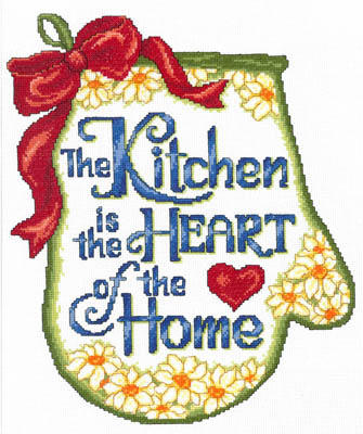 click here to view larger image of Heart Of The Home - Kit (counted cross stitch kit)