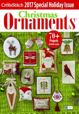 click here to view larger image of Just Cross Stitch Magazine - Christmas Ornaments 2017 (magazines)