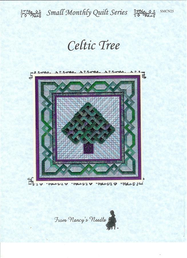 click here to view larger image of Celtic Tree (counted canvas chart)