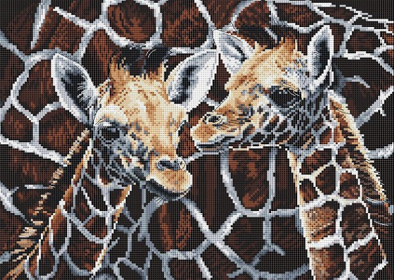 click here to view larger image of Twos Company (counted cross stitch kit)