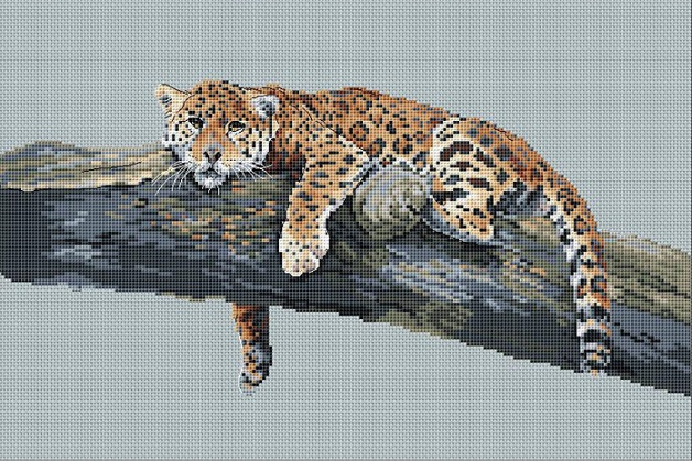 click here to view larger image of Legadema (counted cross stitch kit)