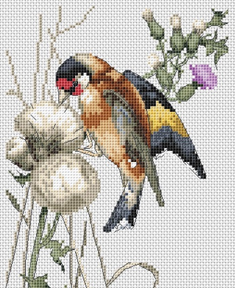 click here to view larger image of Rich Pickings (counted cross stitch kit)