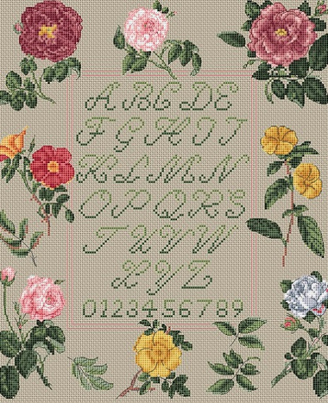 click here to view larger image of Sampler (counted cross stitch kit)