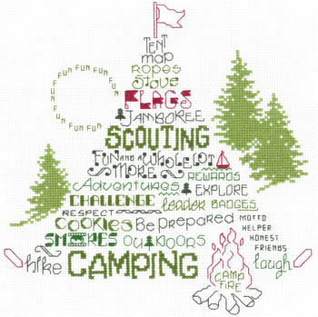 click here to view larger image of Lets Go Camping (chart)