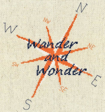 click here to view larger image of Wander and Wonder (chart)