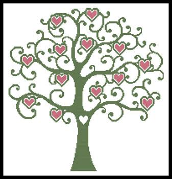 click here to view larger image of Heart Tree  (Joni Prittie) (chart)