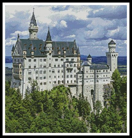 click here to view larger image of Neuschwanstein Castle 2 (Crop) (chart)