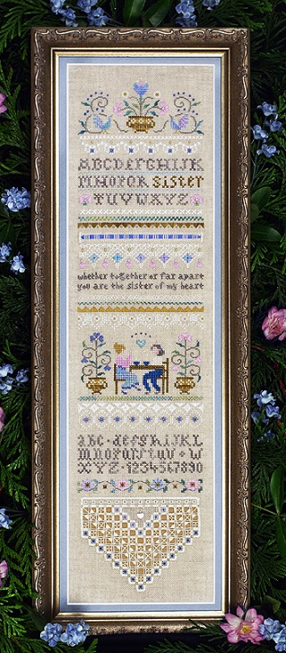 click here to view larger image of Sister Sampler (chart)