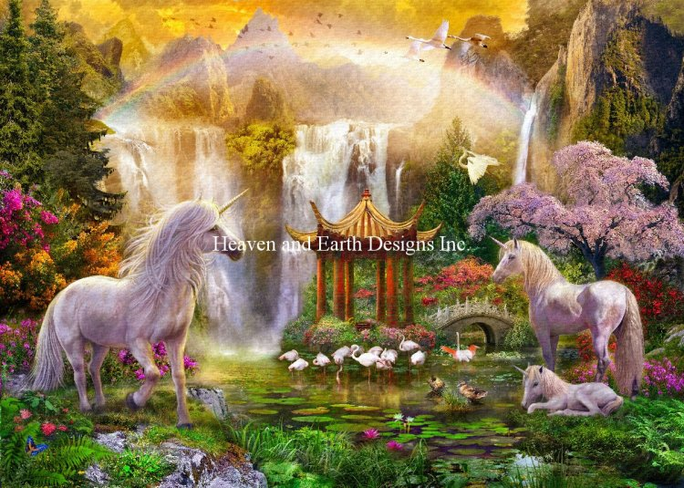 click here to view larger image of Supersized Unicorn Valley Of The Waterfalls - Max Color (chart)