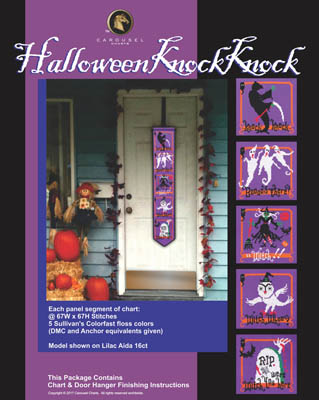 click here to view larger image of Halloween Knock Knock (chart)