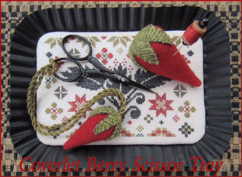 click here to view larger image of Coverlet Berry Scissor Tray (chart)