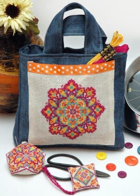 click here to view larger image of Sew Boho Mandala (chart)