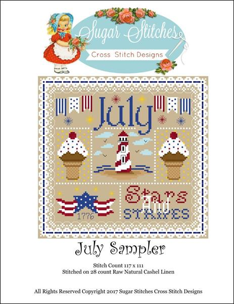 click here to view larger image of July Sampler (chart)