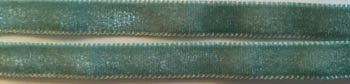 click here to view larger image of Sea Glass 3/8in Velvet Ribbon (fiber)