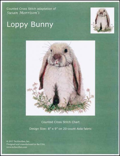 click here to view larger image of Loppy Bunny (chart)