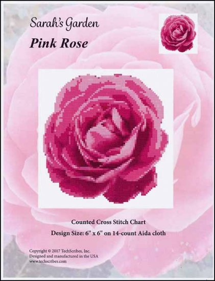 Pink Rose - click here for more details about chart