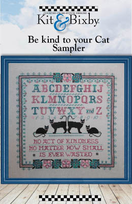 click here to view larger image of Be Kind To Your Cat (chart)