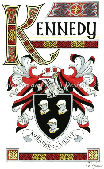 click here to view larger image of Kennedy Crest (chart)