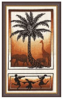 click here to view larger image of Dance of The Creation (counted cross stitch kit)