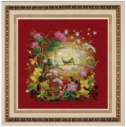 click here to view larger image of Sunset (counted cross stitch kit)