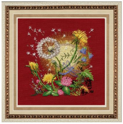 click here to view larger image of Day Spring (counted cross stitch kit)