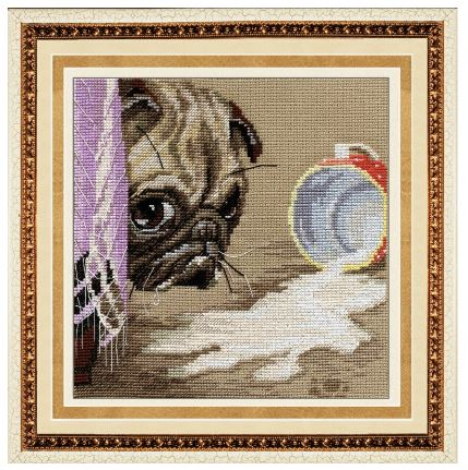click here to view larger image of One At Home (counted cross stitch kit)