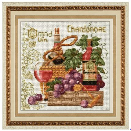 click here to view larger image of Best Traditions - France (counted cross stitch kit)