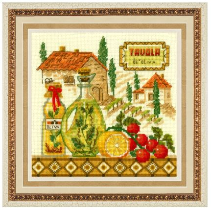 click here to view larger image of Olive Oil (counted cross stitch kit)