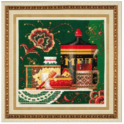 click here to view larger image of Russian Colour (counted cross stitch kit)