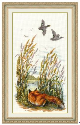 click here to view larger image of In The Forest (counted cross stitch kit)
