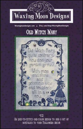 click here to view larger image of Old Witch Mary (chart)