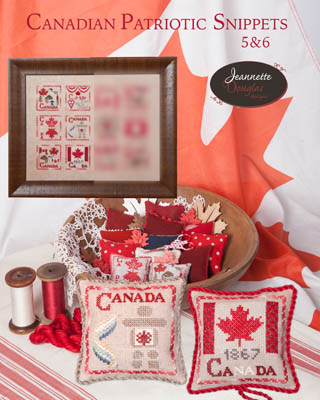 click here to view larger image of Canadian Patriotic Snippets 5 and 6 (chart)