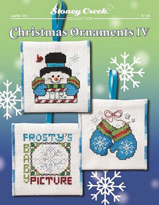 click here to view larger image of Christmas Ornaments IV (chart)