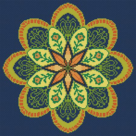 click here to view larger image of Flower Mandala (chart)