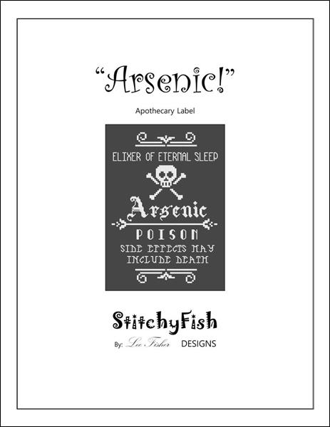 click here to view larger image of Arsenic - Apothecary Label (chart)