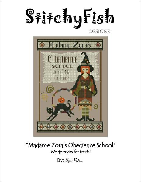click here to view larger image of Madame Zoras Obedience School (chart)