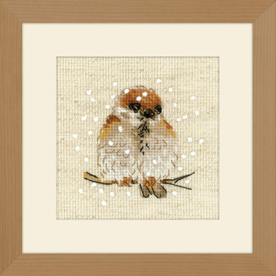 click here to view larger image of Sparrow (counted cross stitch kit)