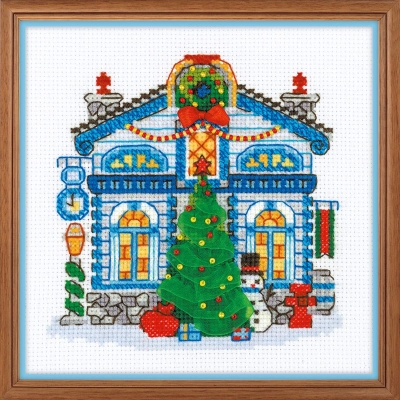 click here to view larger image of Ice Cabin (counted cross stitch kit)