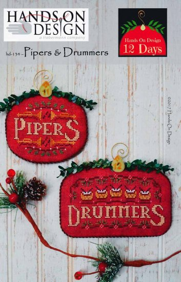 click here to view larger image of Pipers and Drummers - 12 Days (chart)