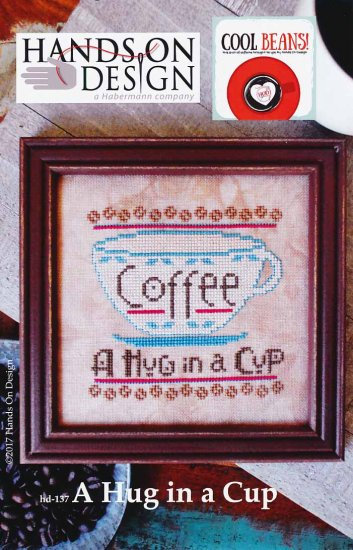 click here to view larger image of Hug In A Cup, A - Cool Beans (chart)