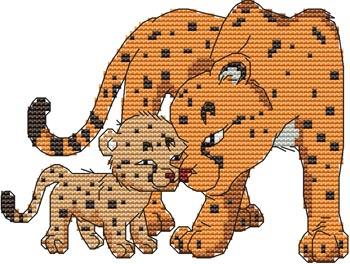 click here to view larger image of Momma N Me Cheetah (chart)