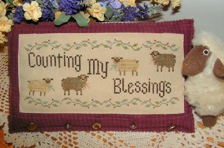click here to view larger image of Counting My Blessings (chart)