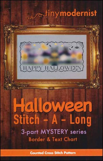 click here to view larger image of Halloween Stitch-A-Long Border and Text (chart)