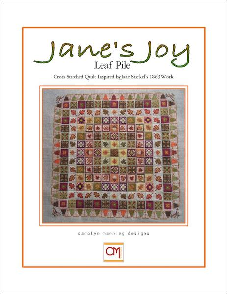 click here to view larger image of Janes Joy Leaf Pile (chart)