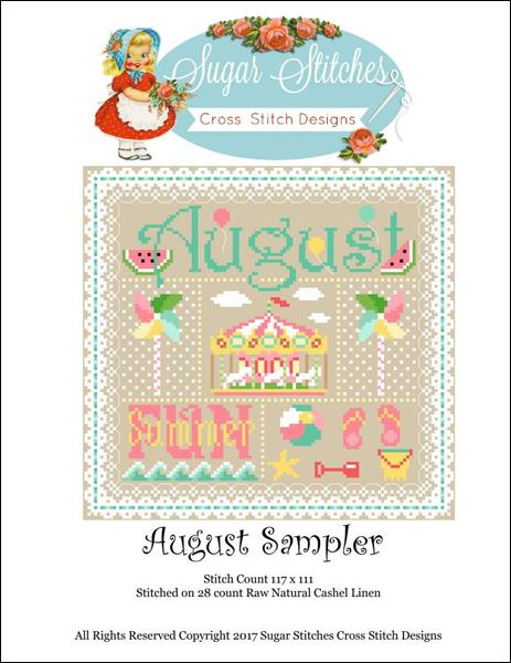click here to view larger image of August Sampler (chart)