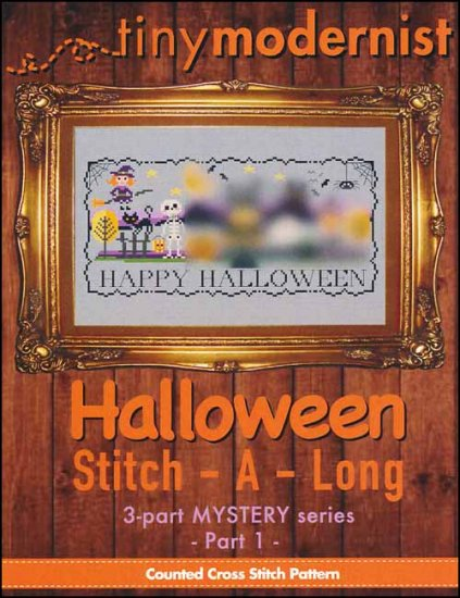 click here to view larger image of Halloween Stitch-A-Long Part 1 (chart)